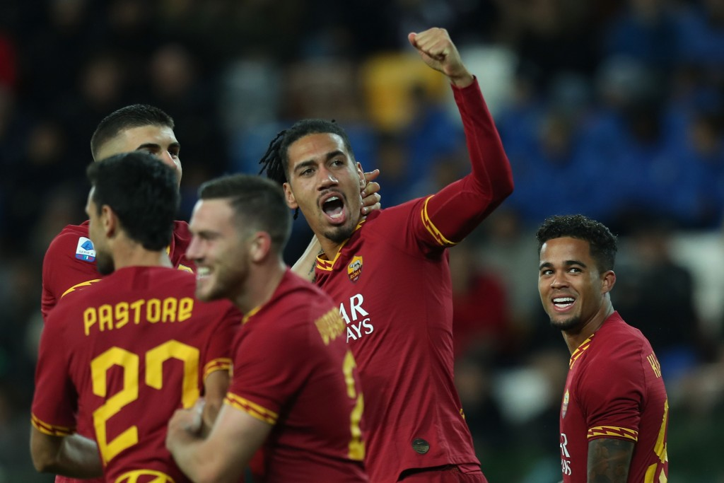 Set to celebrate a return to Roma. (Photo by Gabriele Maltinti/Getty Images)