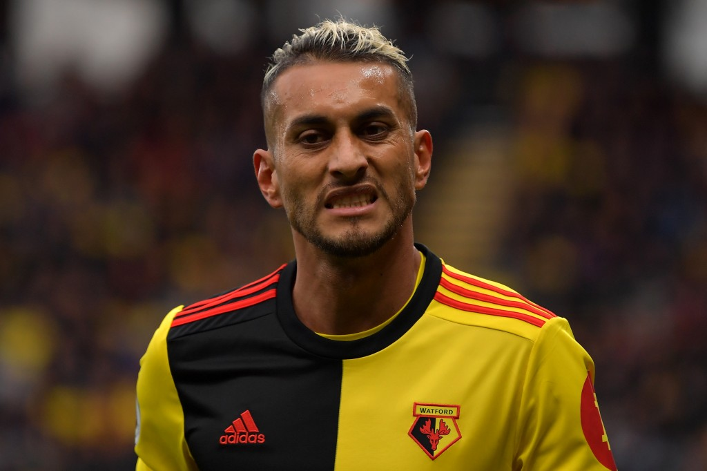 Can Roberto Pereyra hit top form against Chelsea? (Photo by Justin Setterfield/Getty Images)
