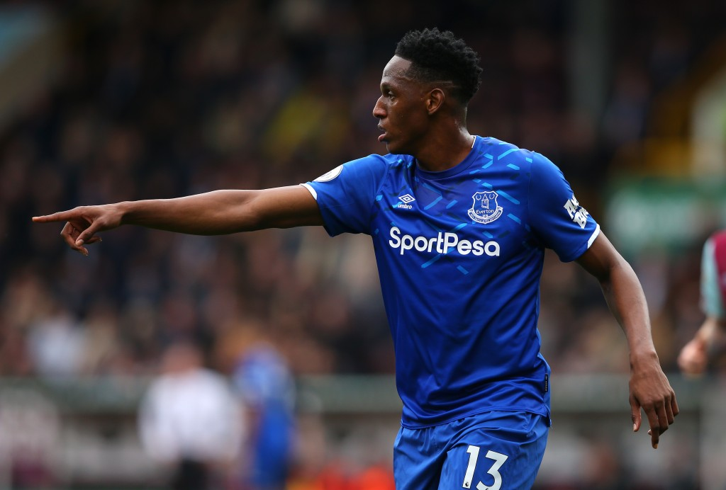 Yerry Mina is a doubt due to a knee injury. (Photo by Alex Livesey/Getty Images)