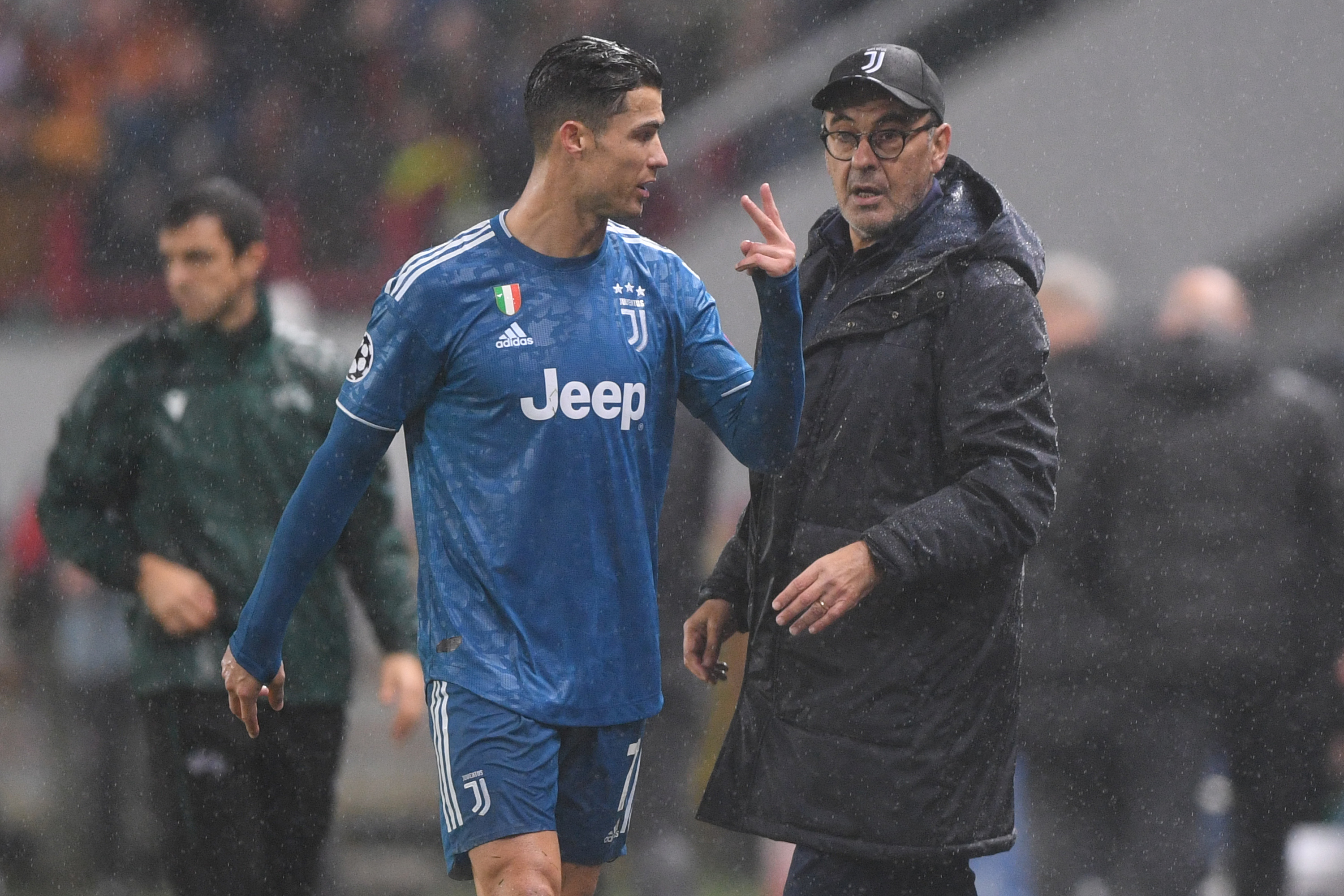 Sarri is sweating over the fitness of Cristiano Ronaldo (Photo by KIRILL KUDRYAVTSEV/AFP via Getty Images)