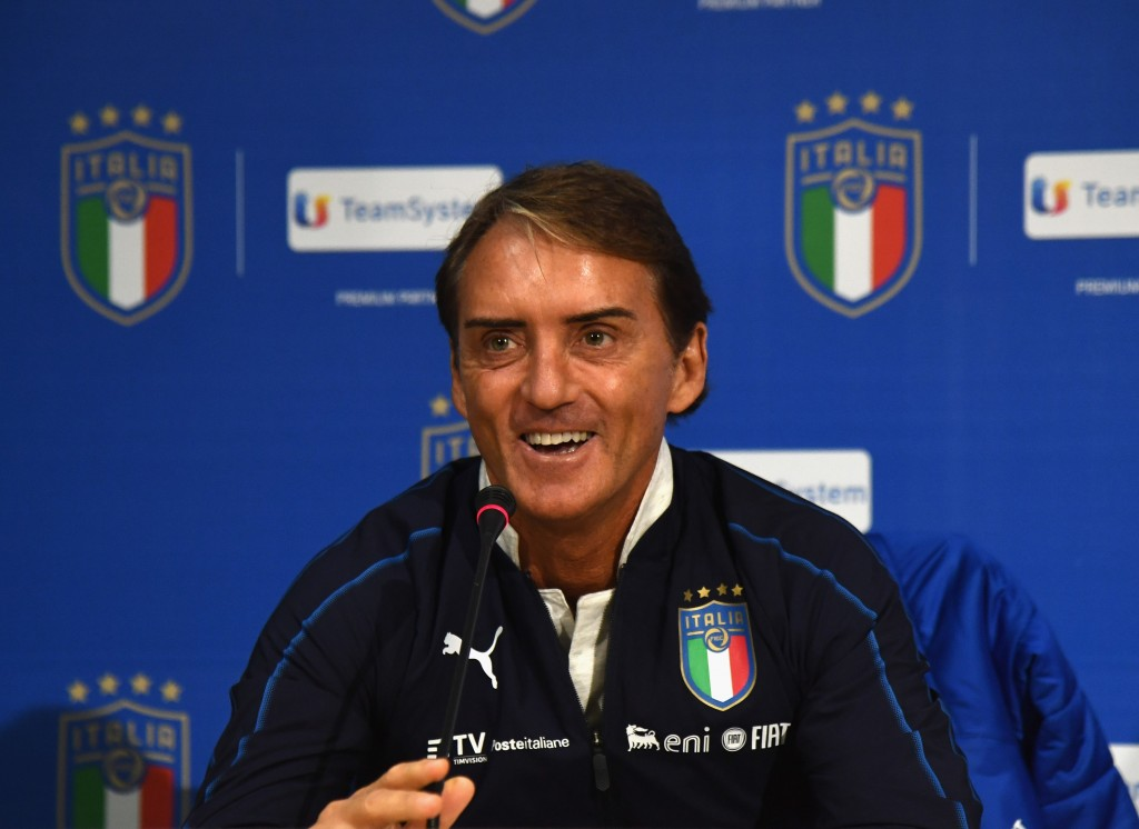 Roberto Mancini has been inspirational as the Italy head coach. (Photo by Claudio Villa/Getty Images)