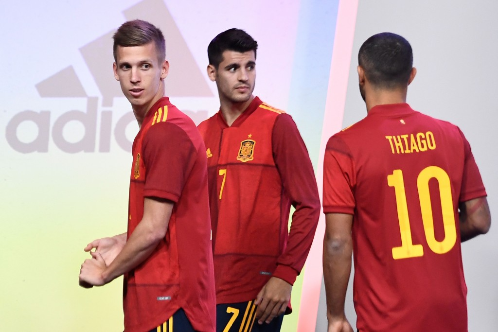Will Morata (C) impress on his return? (Photo by Oscar del Pozo/AFP via Getty Images)