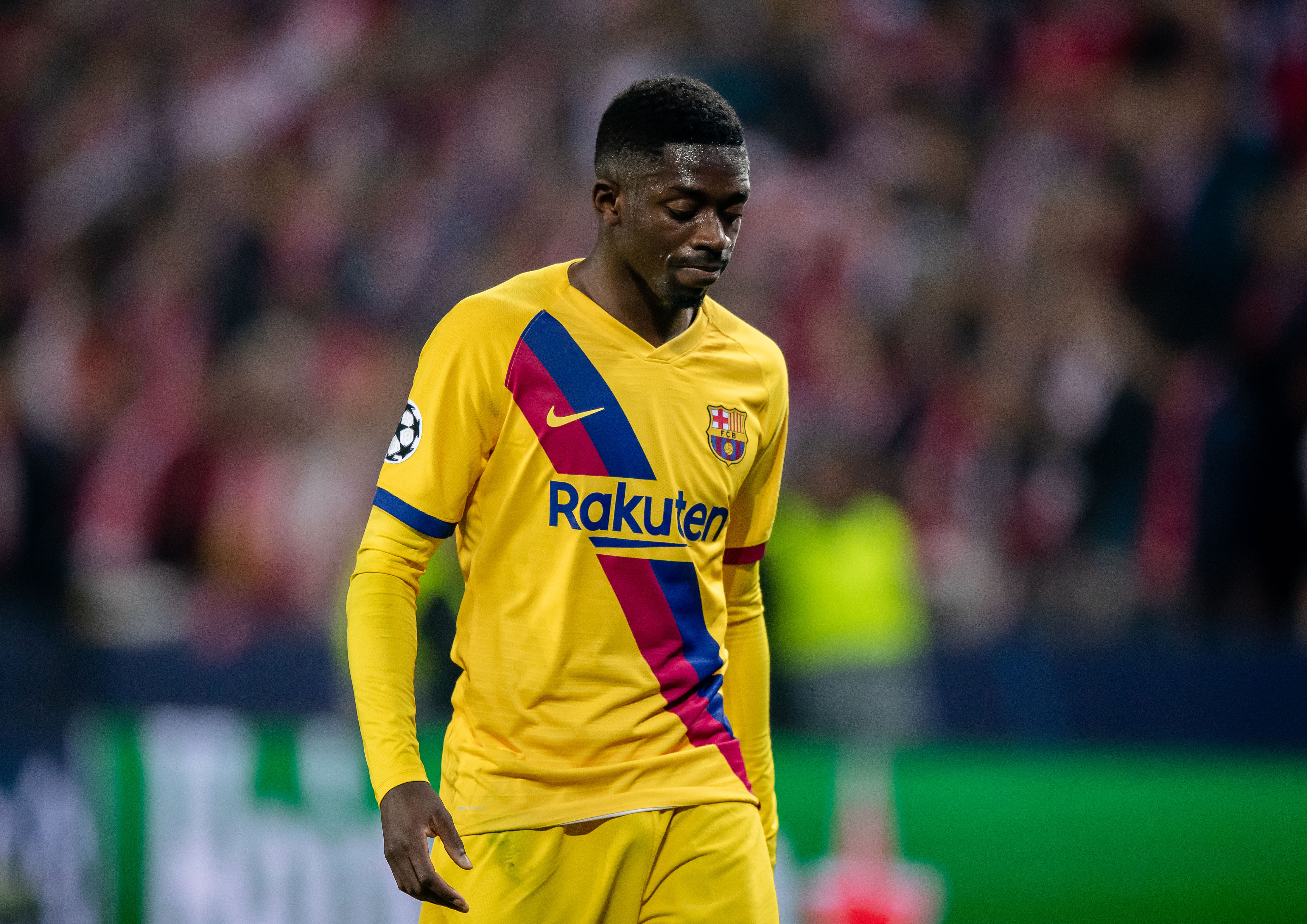 Will Barcelona sell Ousmane Dembele in January? (Photo by Thomas Eisenhuth/Getty Images)