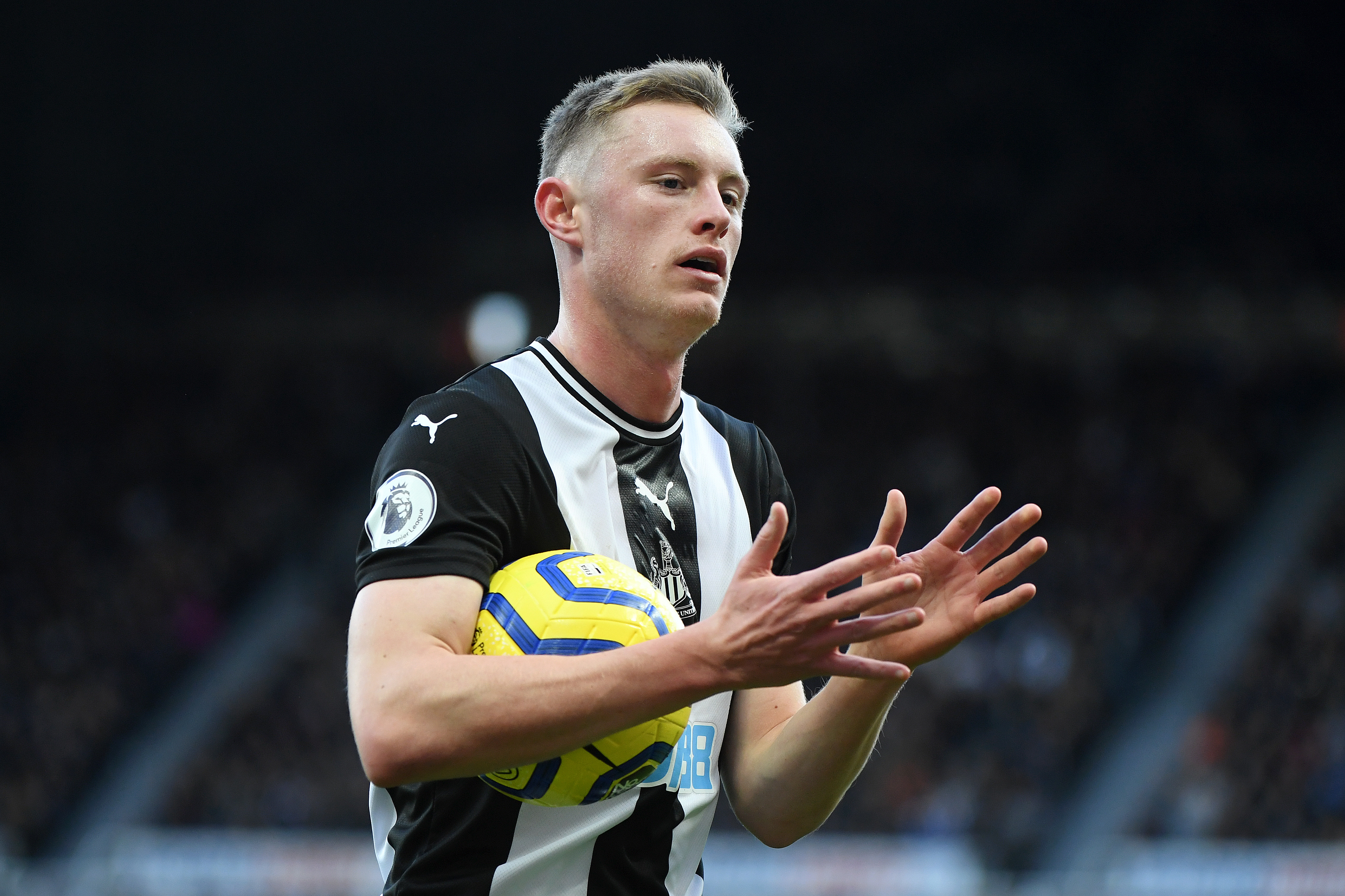 Sean Longstaff is back after serving his suspension (Photo by Mark Runnacles/Getty Images)