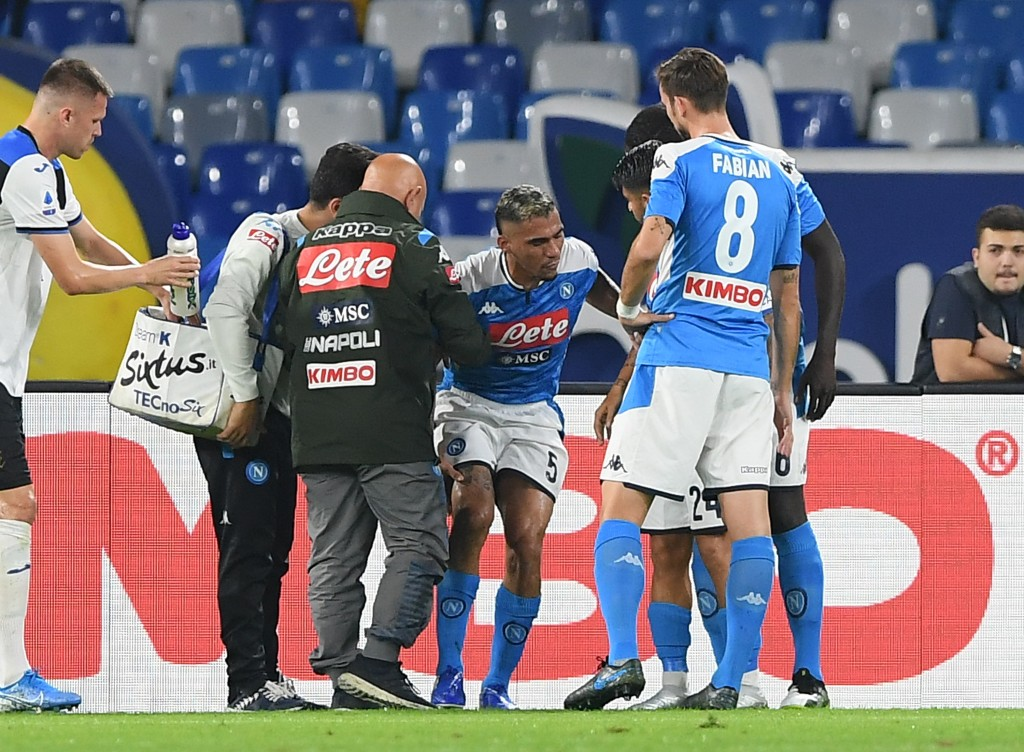 Allan misses out for Napoli. (Photo by Francesco Pecoraro/Getty Images)