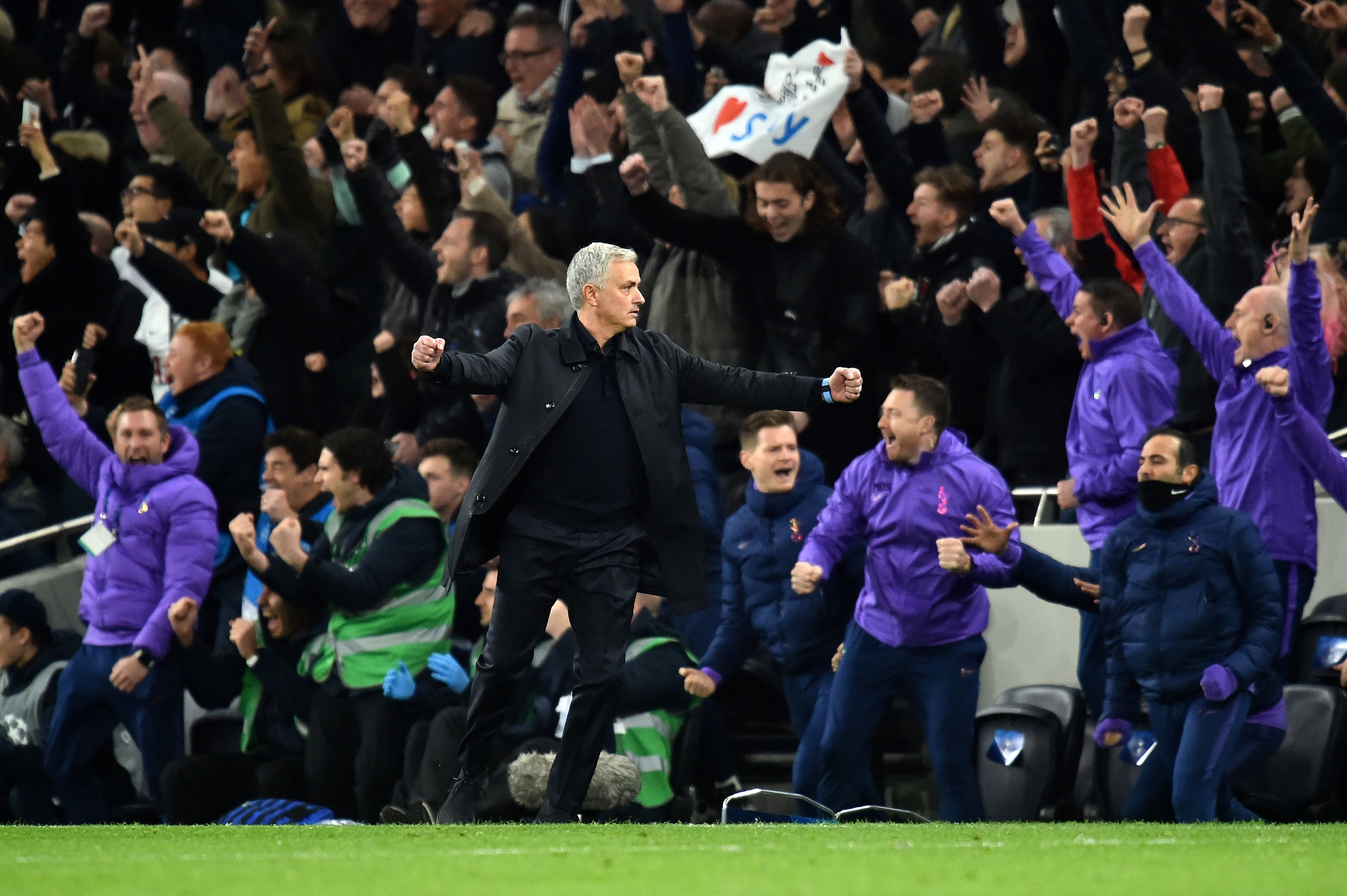 Mourinho working his magic at Tottenham? (Photo by GLYN KIRK/IKIMAGES/AFP via Getty Images)