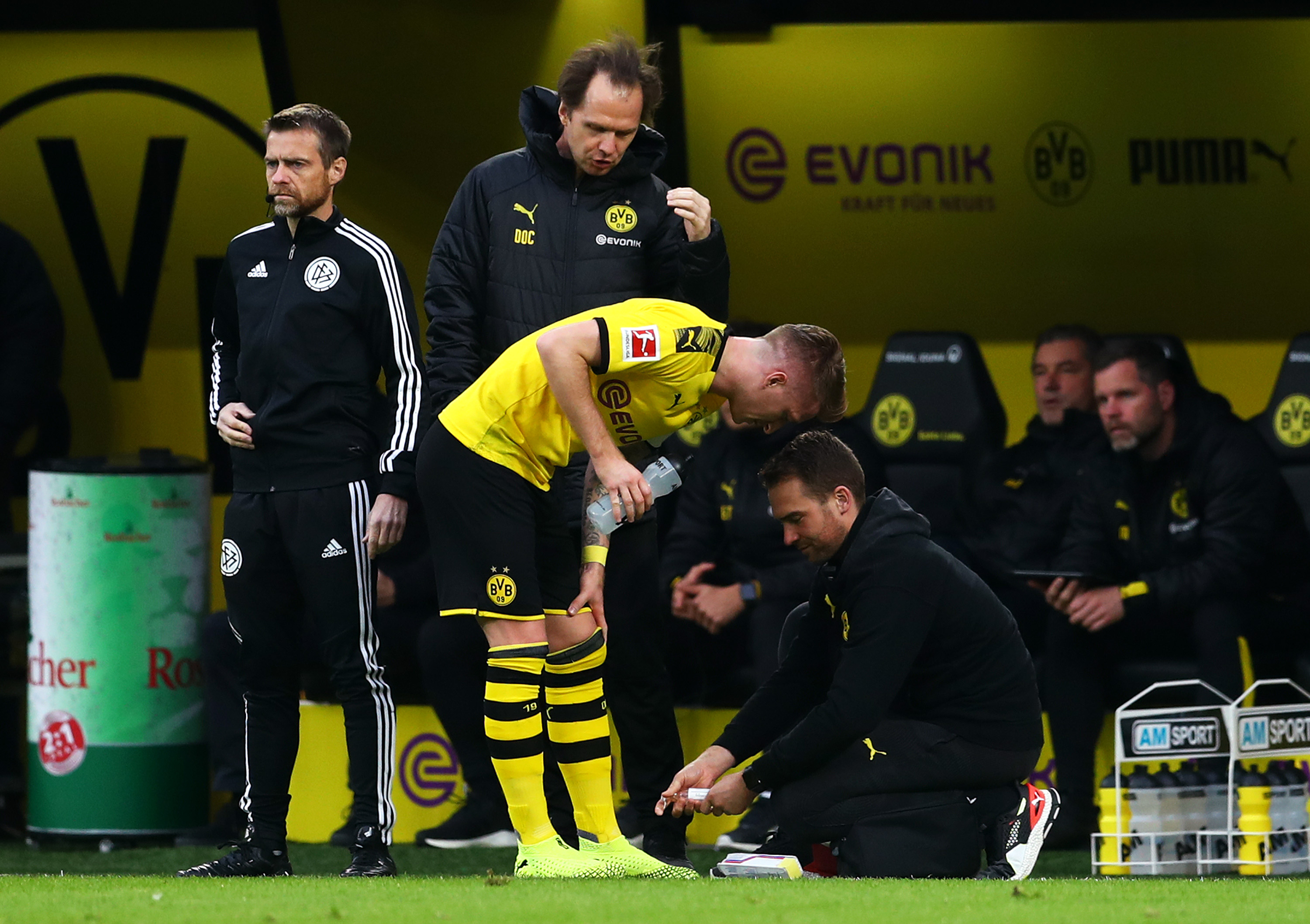 Marco Reus could be out for the season (Photo by Lars Baron/Bongarts/Getty Images)