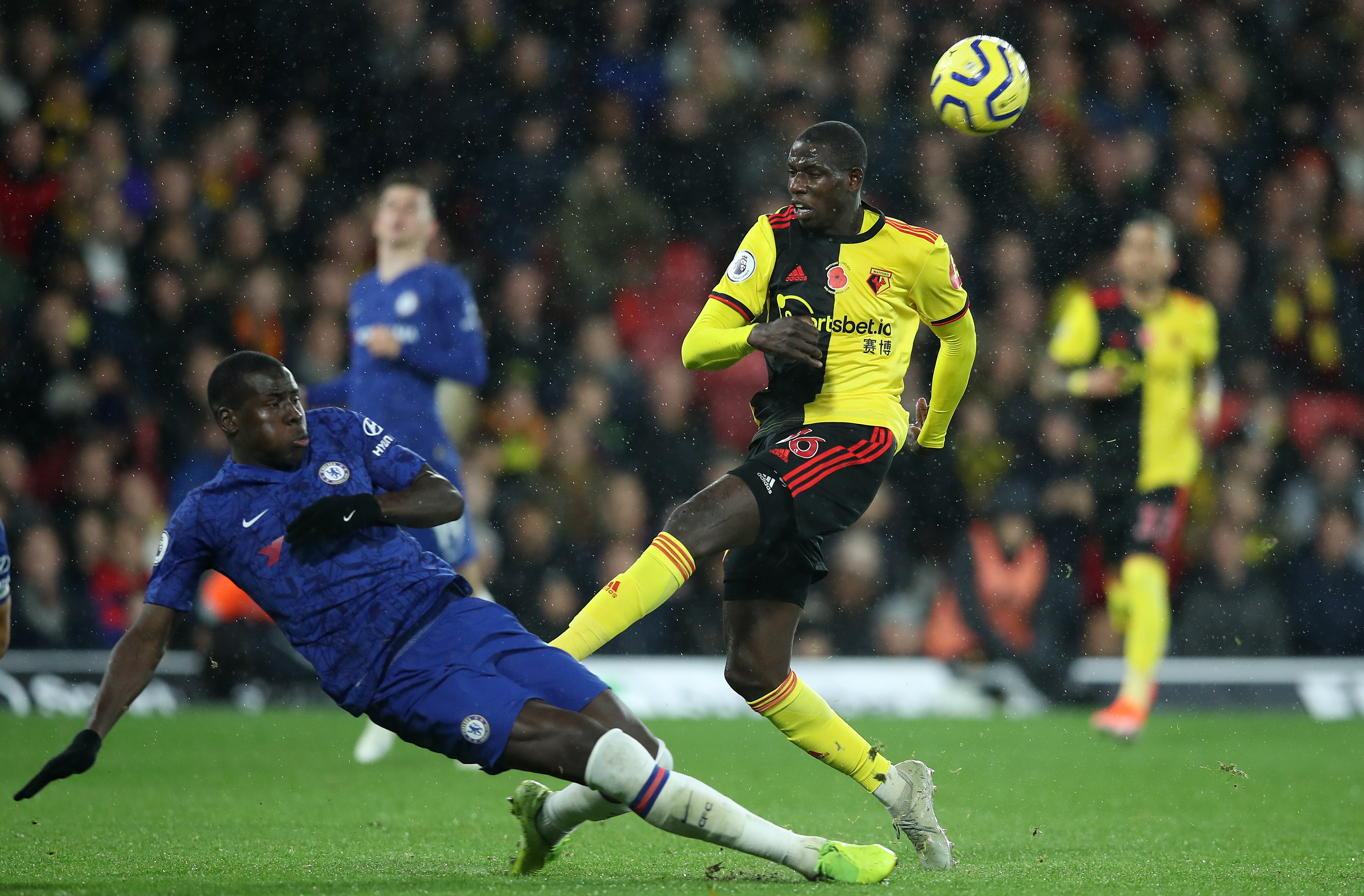 Zouma on his way to Tottenham? (Photo by Christopher Lee/Getty Images)
