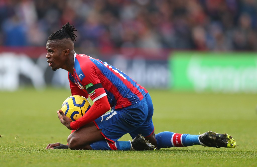 Will Zaha step up? (Photo by Catherine Ivill/Getty Images)