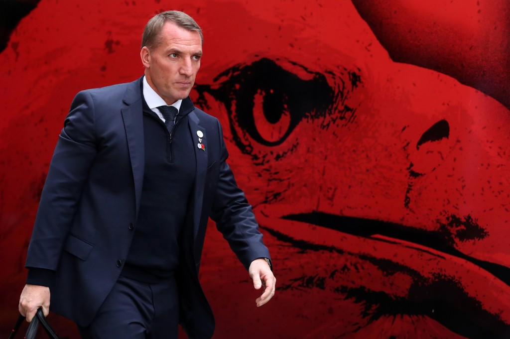Brendan Rodgers has a near full strength squad at his disposal. (Photo by Catherine Ivill/Getty Images)