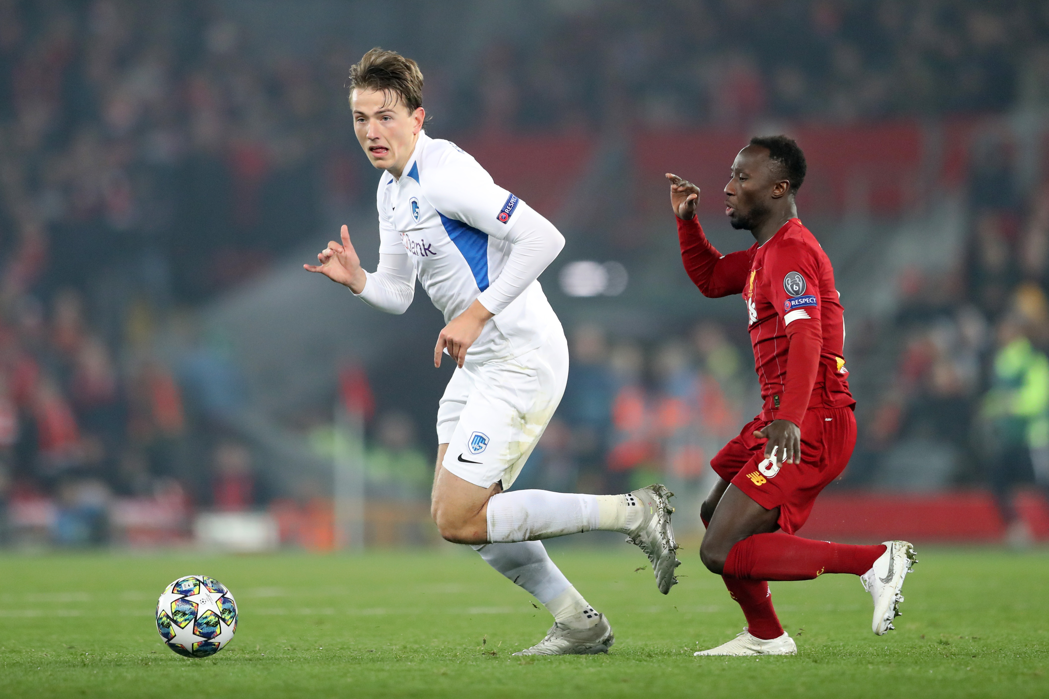 Sander Berge impressed Jurgen Klopp during their Champions League clash. (Photo by Alex Pantling/Getty Images)