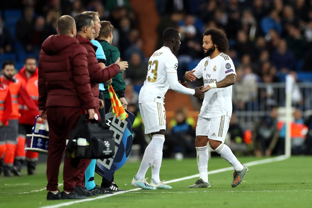 Ferland Mendy is slowly but surely taking over from Marcelo. (Photo by Angel Martinez/Getty Images)
