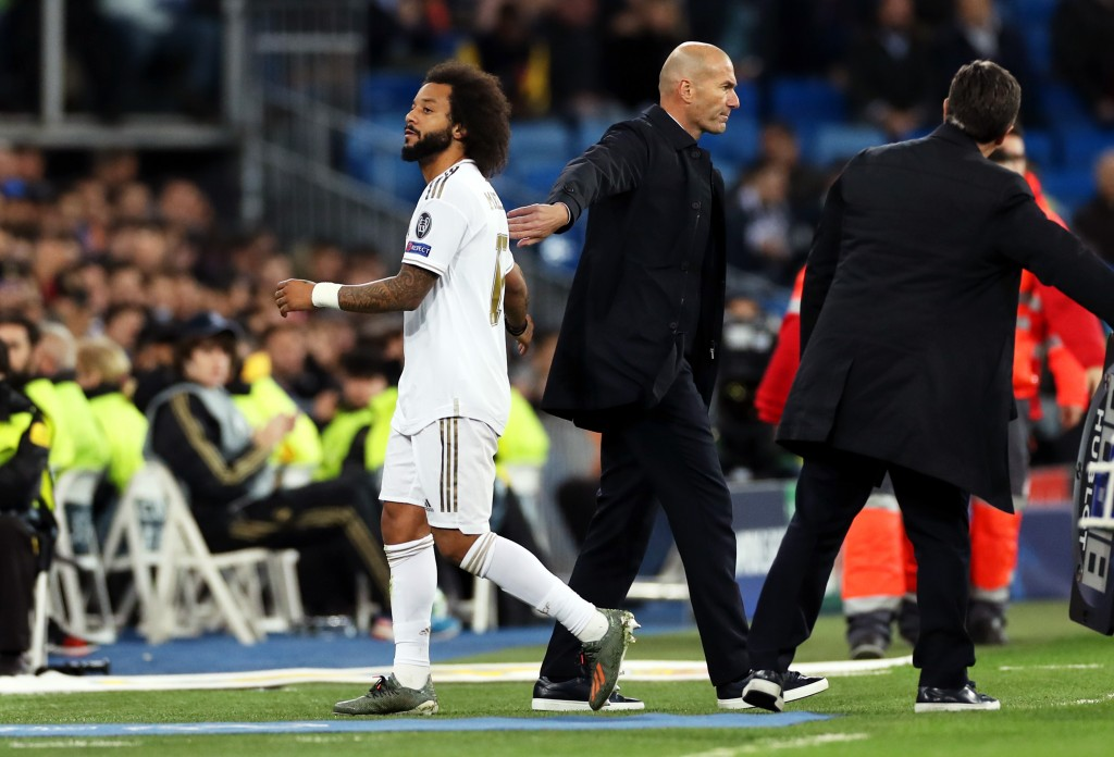 Marcelo was sublime before injury struck. (Photo by Angel Martinez/Getty Images)