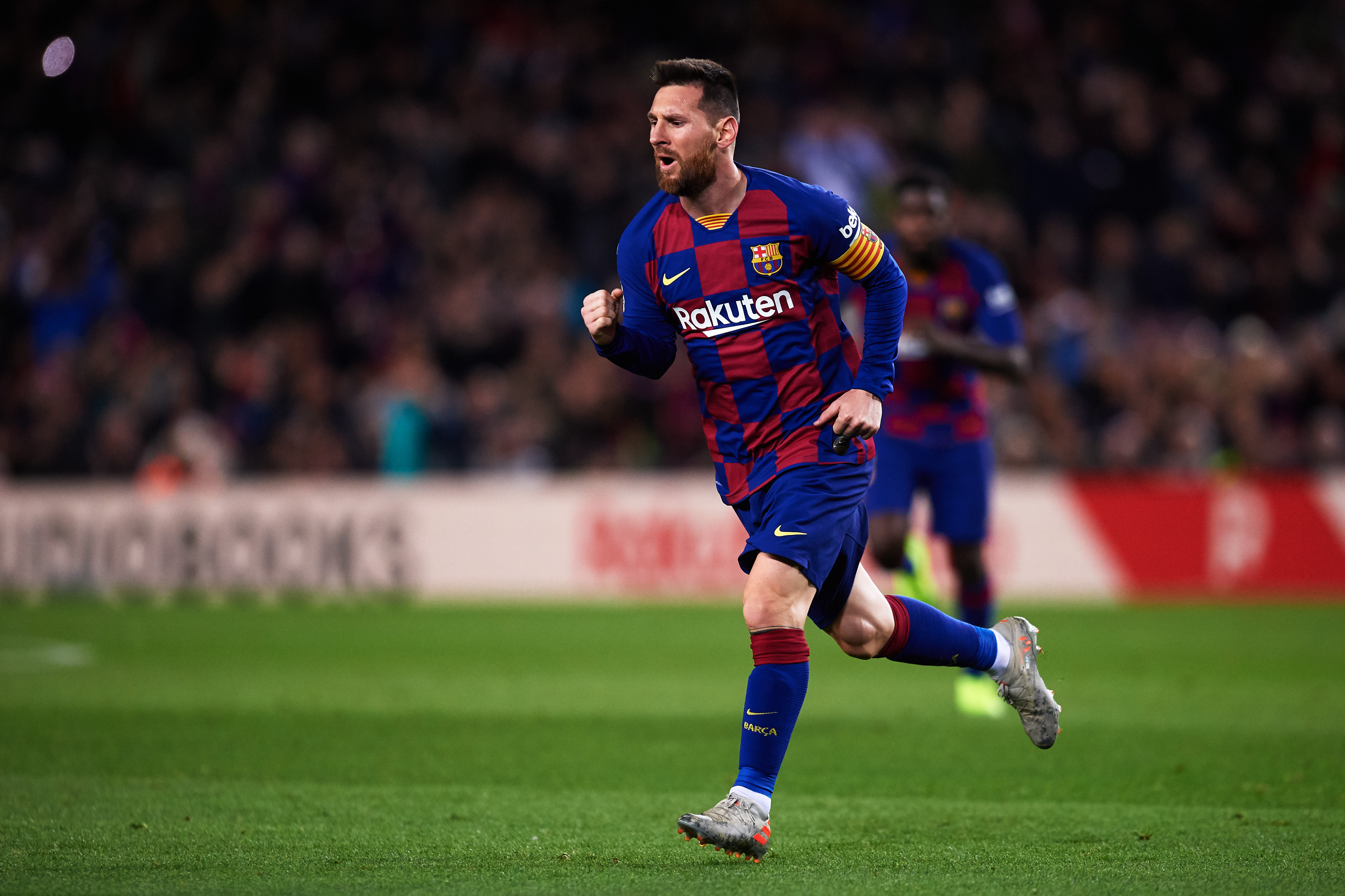 Messi will be key for Barcelona's chances (Photo by Alex Caparros/Getty Images)