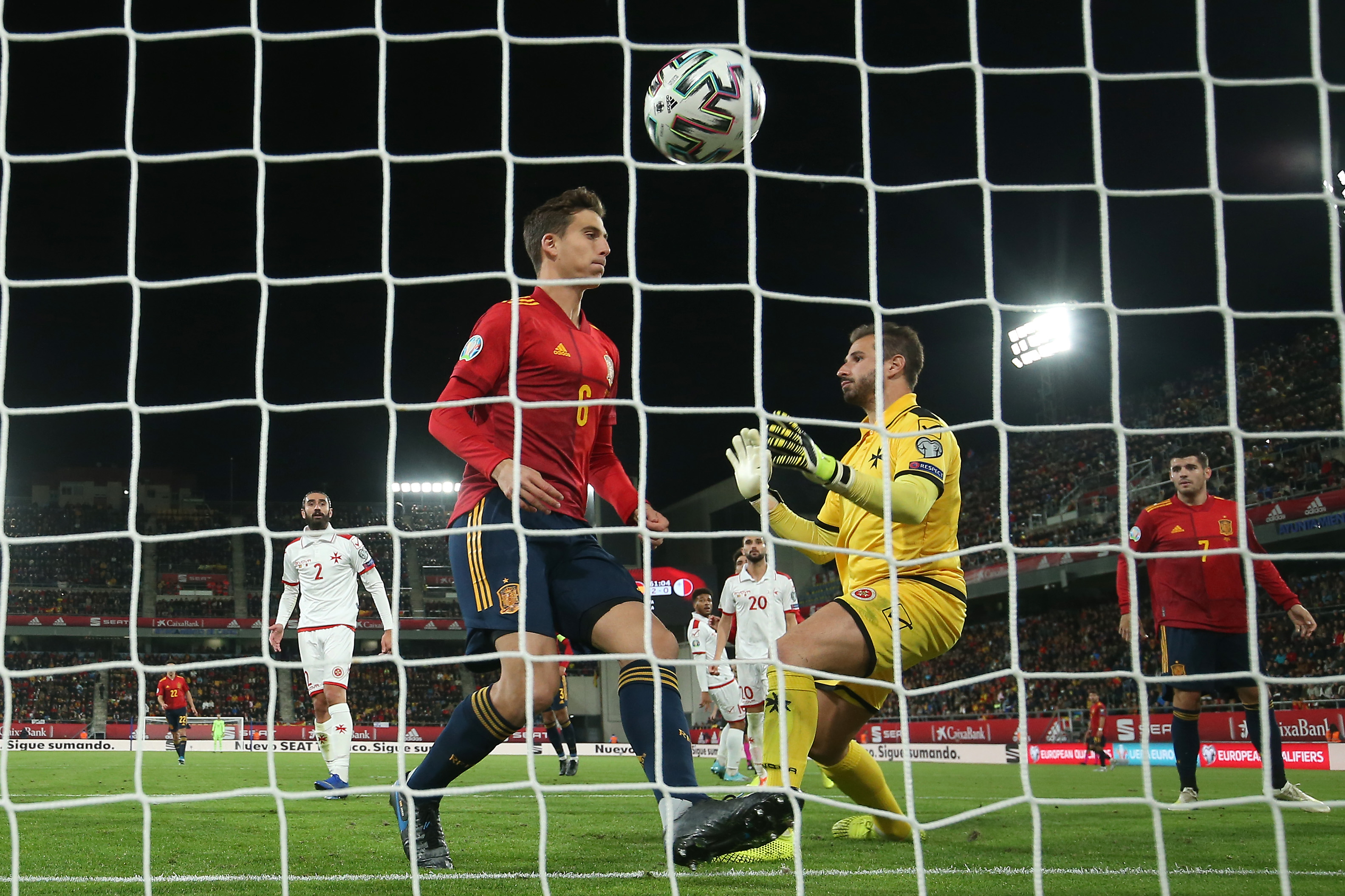 Pau Torres scored on his debut for Spain (Photo by Angel Martinez/Getty Images)