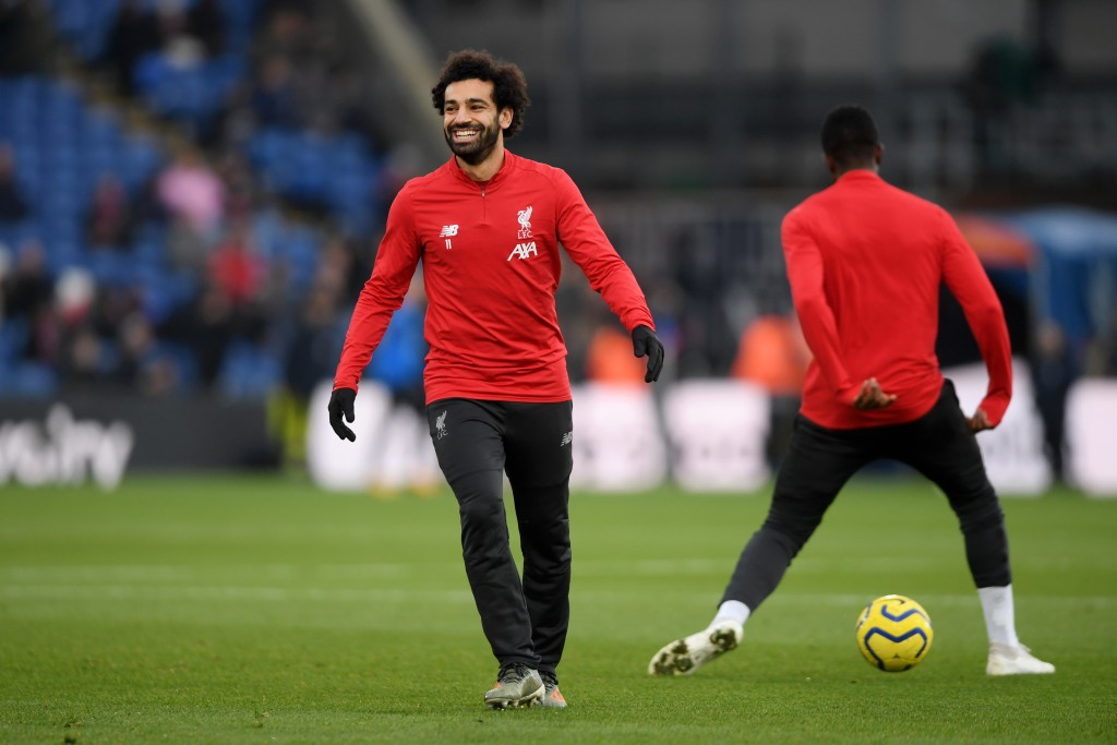 Mohamed Salah is set to start against Napoli. (Photo by Mike Hewitt/Getty Images)