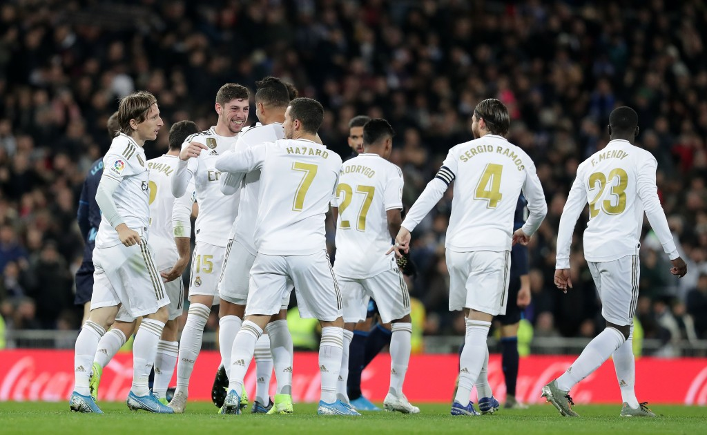 Can Real Madrid continue their fine run with a win over PSG? (Photo by Gonzalo Arroyo Moreno/Getty Images)