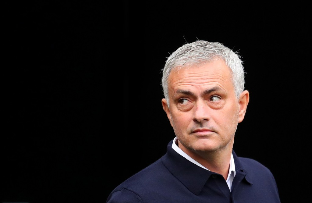 Jose Mourinho has a near-full strength squad at his disposal. (Photo by Catherine Ivill/Getty Images)