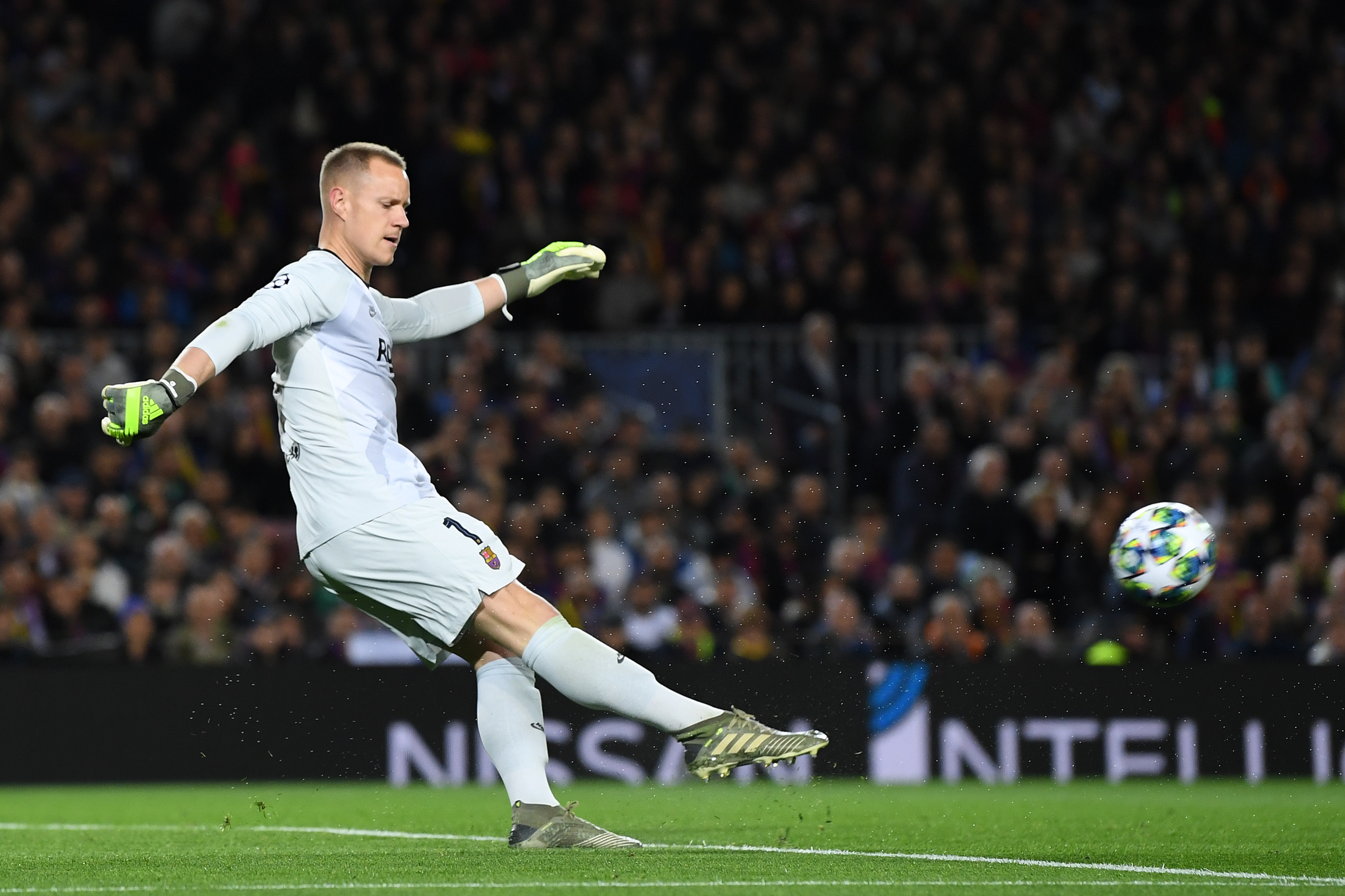 Marc-Andre ter Stegen is back in contention for Barcelona. (Photo by David Ramos/Getty Images)