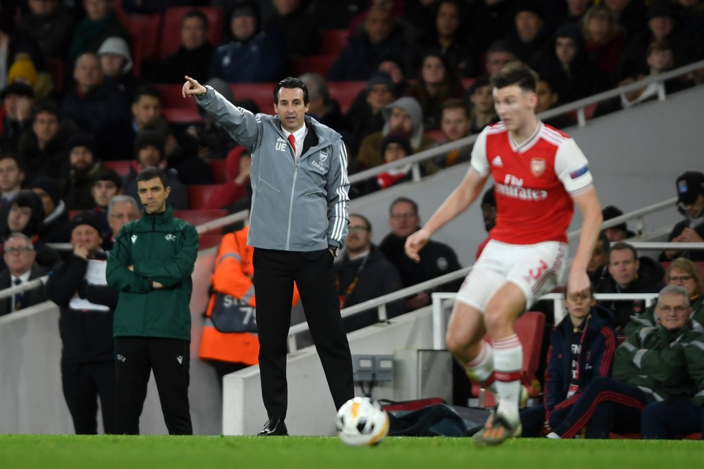 Tierney did not enjoy the best of times under Unai Emery. (Photo by Mike Hewitt/Getty Images)