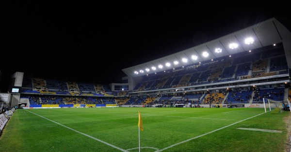 CADIZ, SPAIN - DECEMBER 02:  View of Ramon de Carranza stadium ahead of the Copa del Rey Round of 32 First Leg match between Cadiz and Real Madrid at Ramon de Carranza stadium on December 2, 2015 in Cadiz, Spain.  (Photo by Denis Doyle/Getty Images)