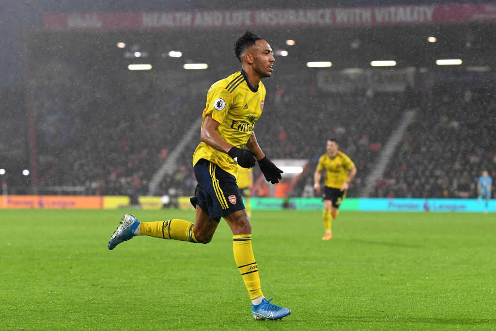 Aubameyang to the rescue (Photo by Justin Setterfield/Getty Images)