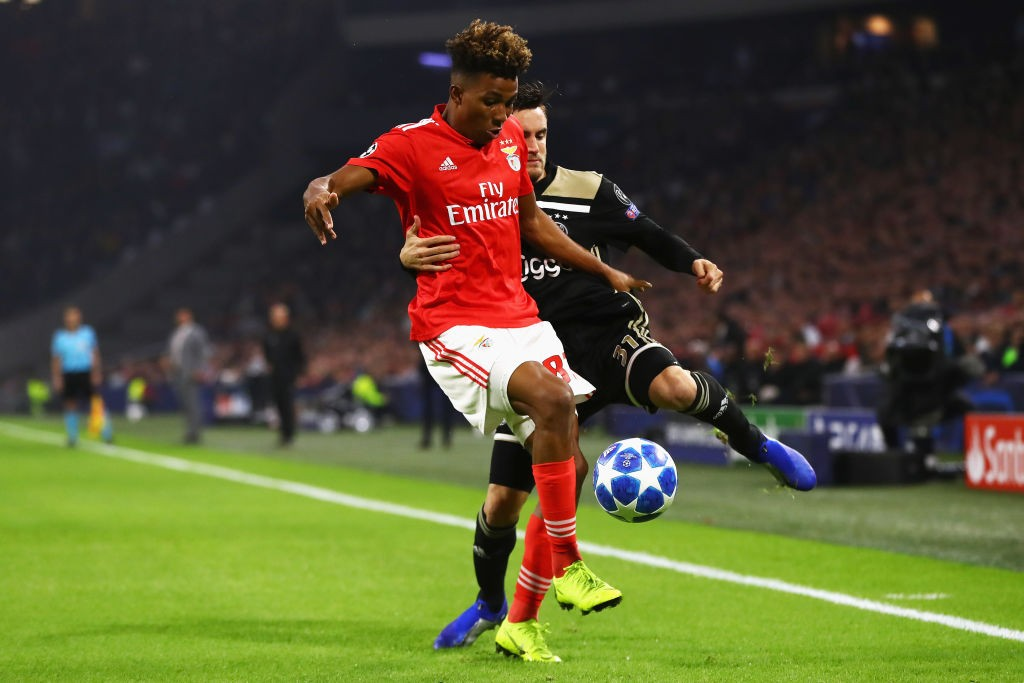 Manchester United 'interested' in Benfica midfielder