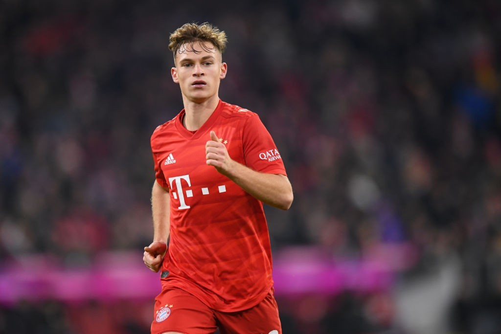 Joshua Kimmich is a long-term absentee for Bayern Munich. (Photo by Sebastian Widmann/Bongarts/Getty Images)