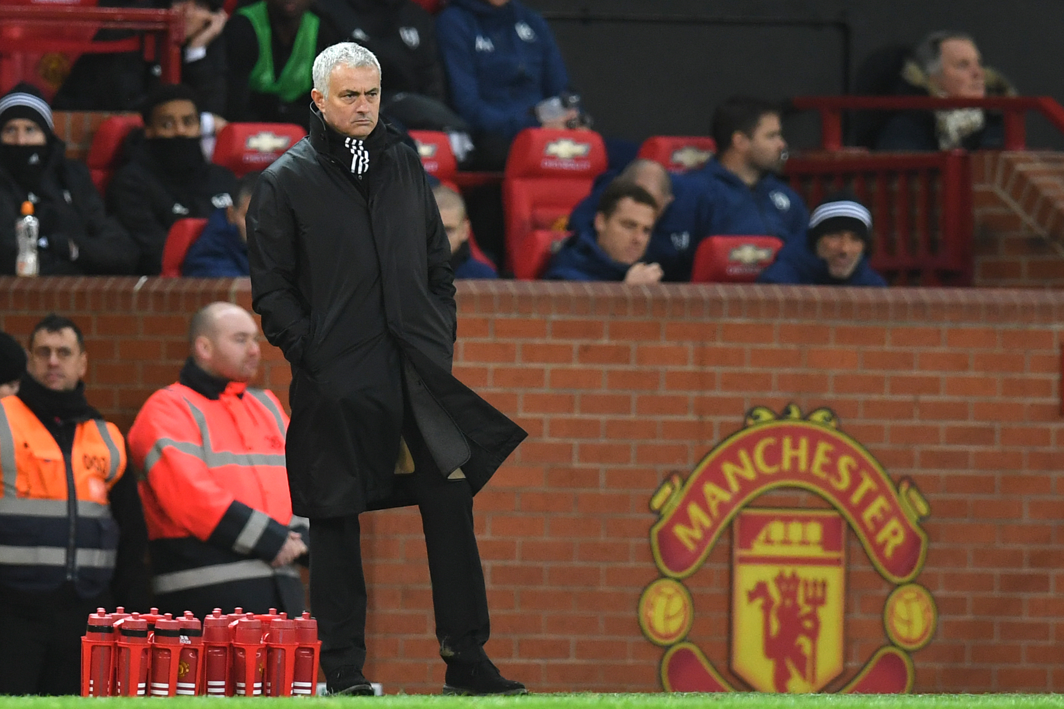 Mourinho will return to Old Trafford for the first time since being sacked last year (Photo credit by PAUL ELLIS/AFP via Getty Images)