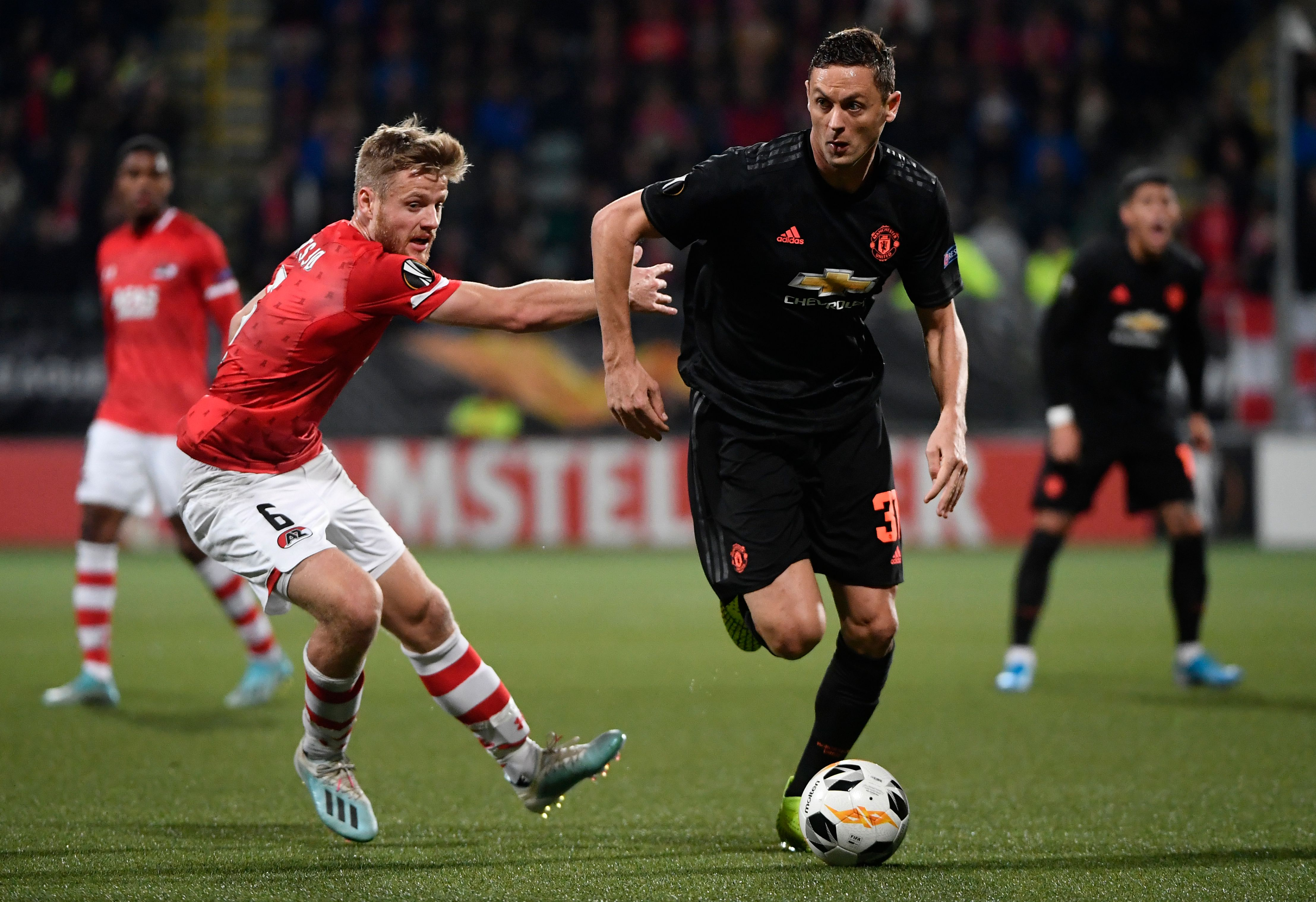 Matic set to return for Manchester United (Photo by JOHN THYS/AFP via Getty Images)