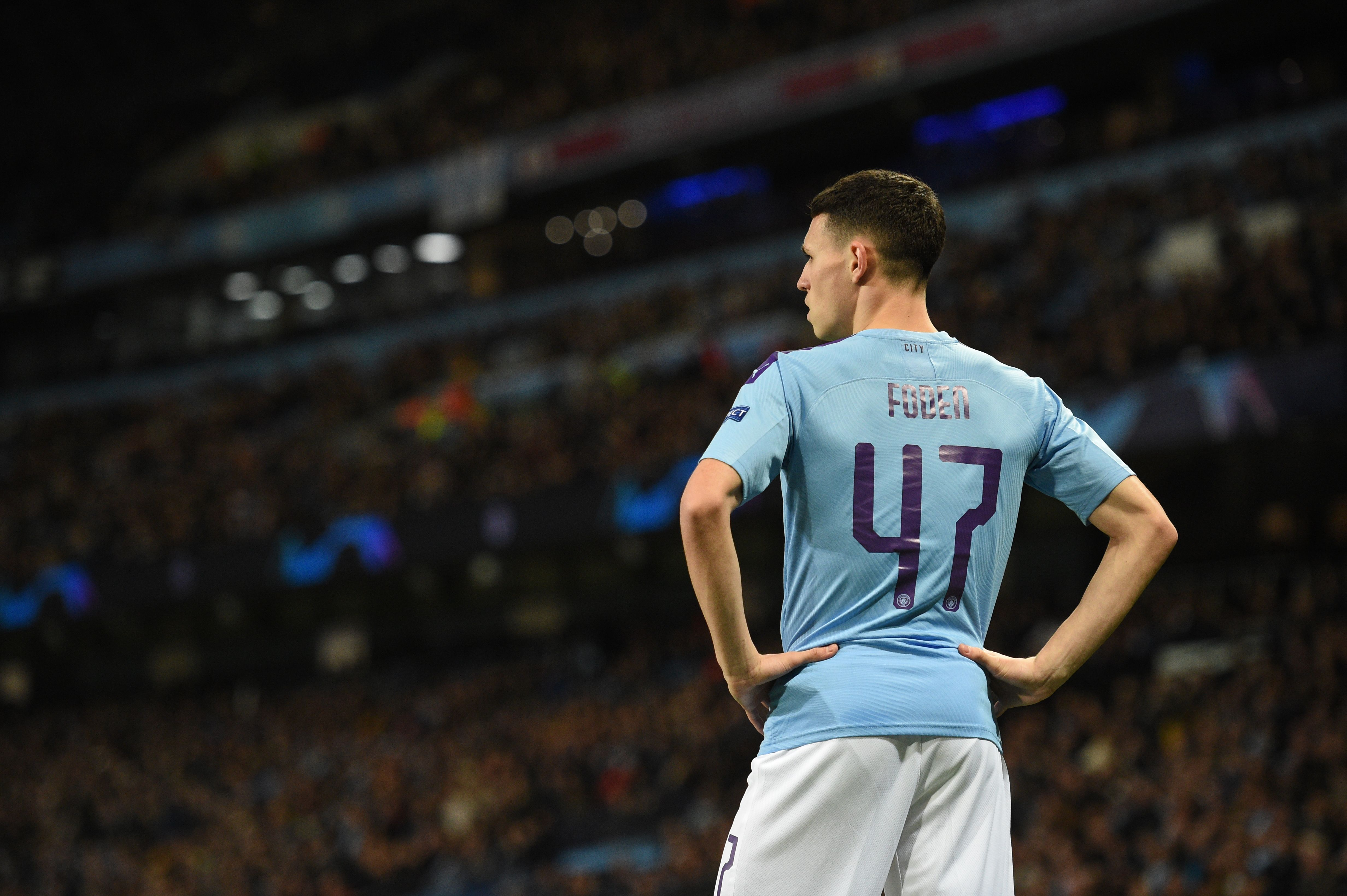 Foden will get a chance to impress against Marseille. (Photo by Oli Scarff/AFP via Getty Images)