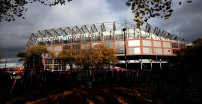 BIRMINGHAM, ENGLAND - NOVEMBER 02:  General view outside the stadium ahead of the Premier League match between Aston Villa and Liverpool FC at Villa Park on November 02, 2019 in Birmingham, United Kingdom. (Photo by Marc Atkins/Getty Images)