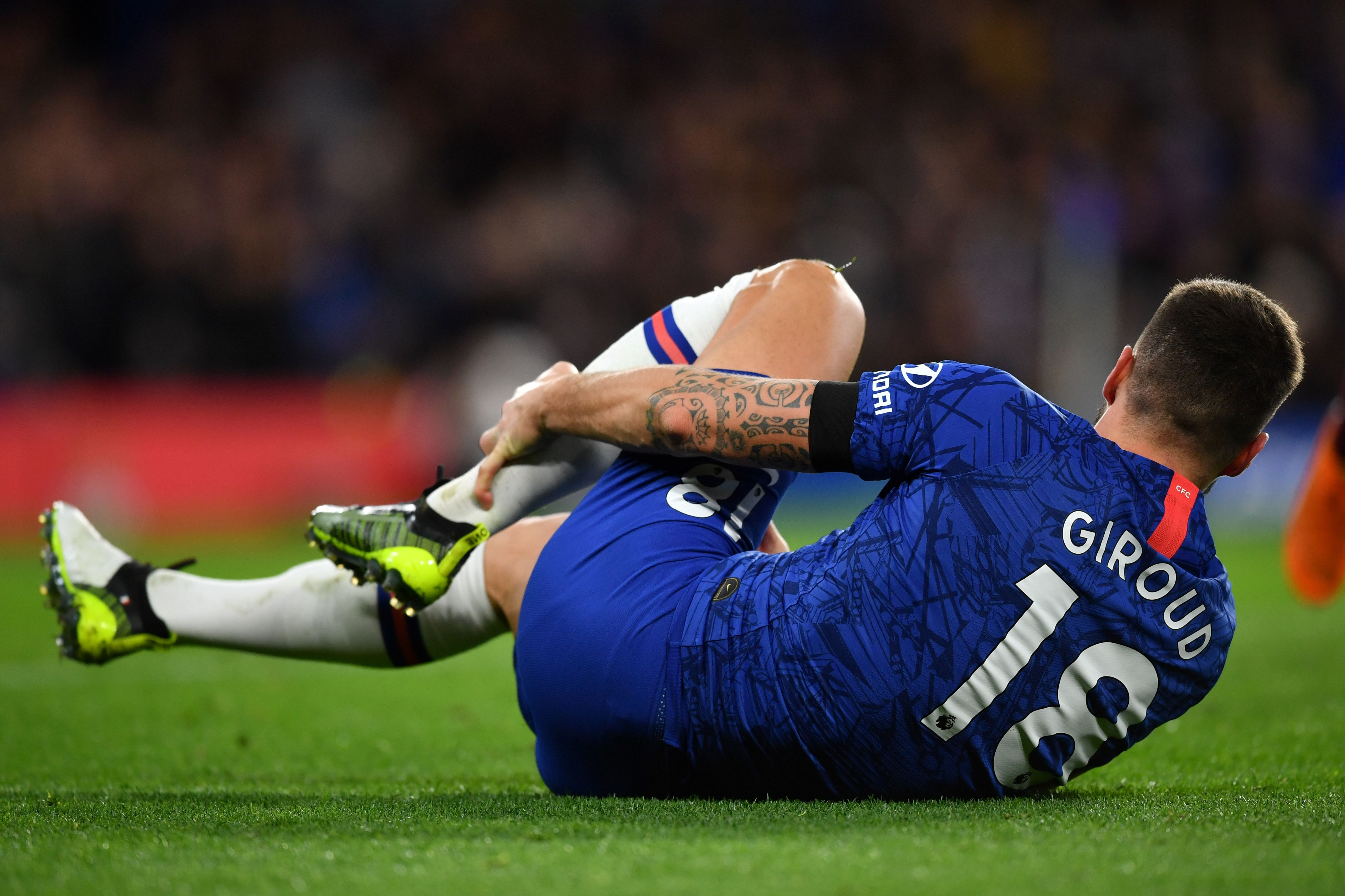 Giroud set to miss out again (Photo by BEN STANSALL/AFP via Getty Images)