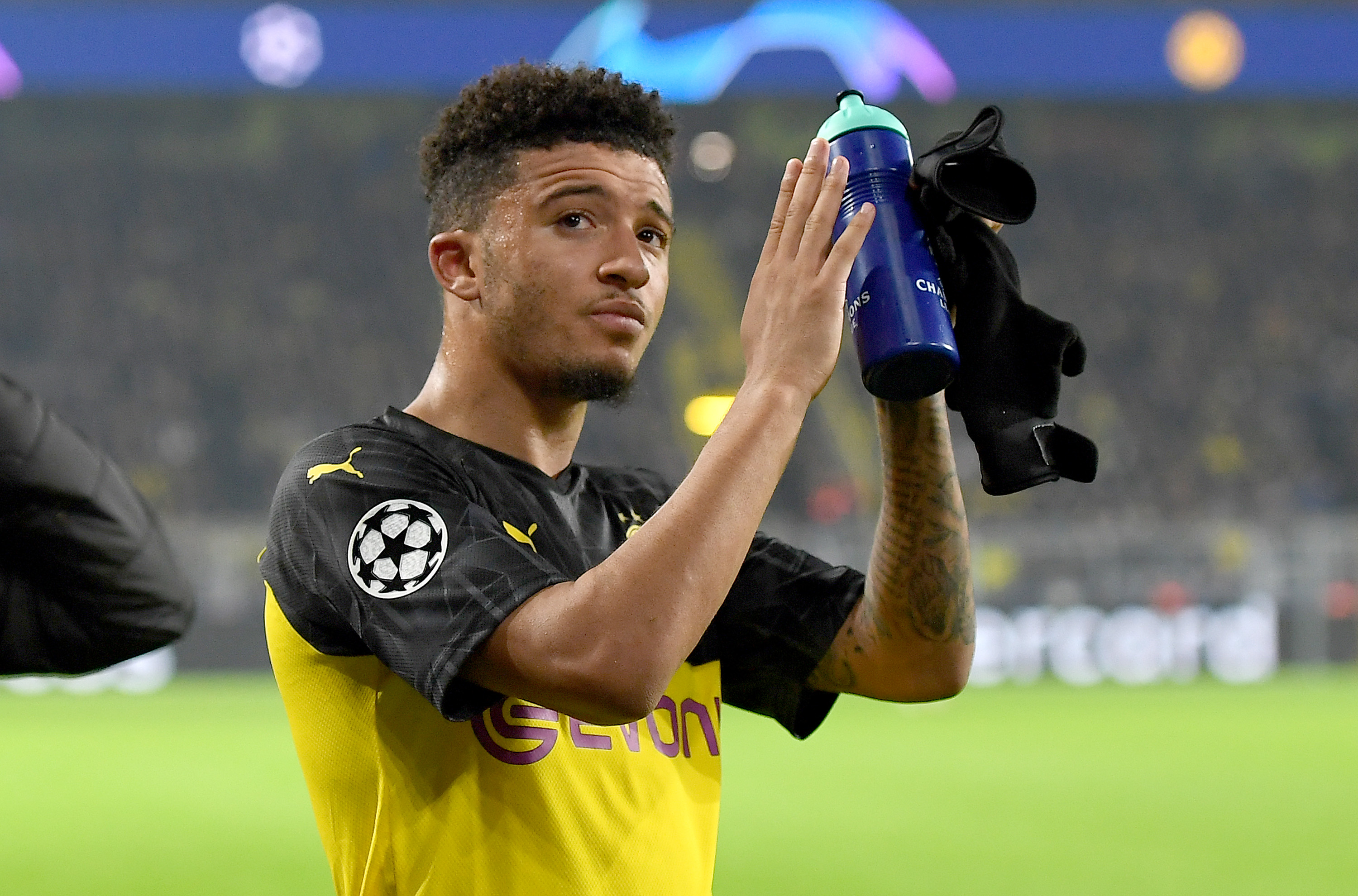 Sancho can help bring back the glory days at Manchester United (Picture Courtesy - AFP/Getty Images)