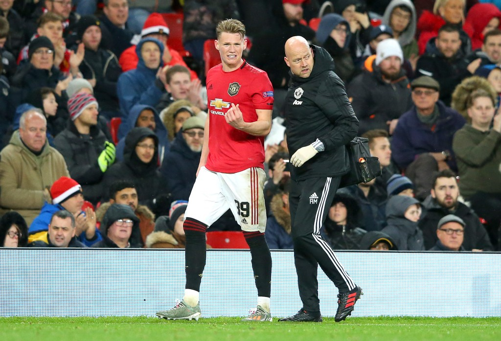 McTominay's return is vital for Manchester United. (Picture Courtesy - AFP/Getty Images)