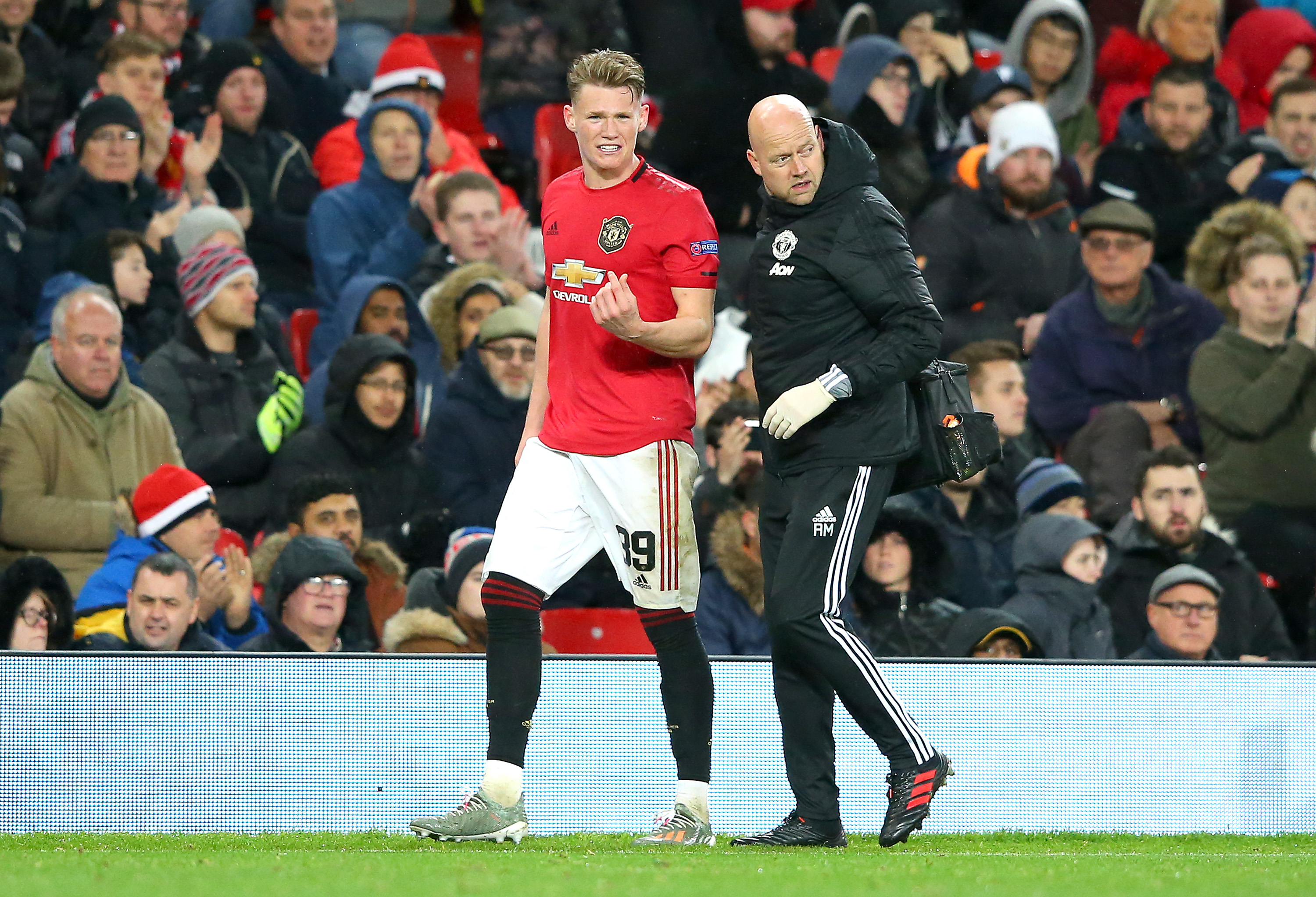 McTominay could return for Manchester United (Picture Courtesy - AFP/Getty Images)
