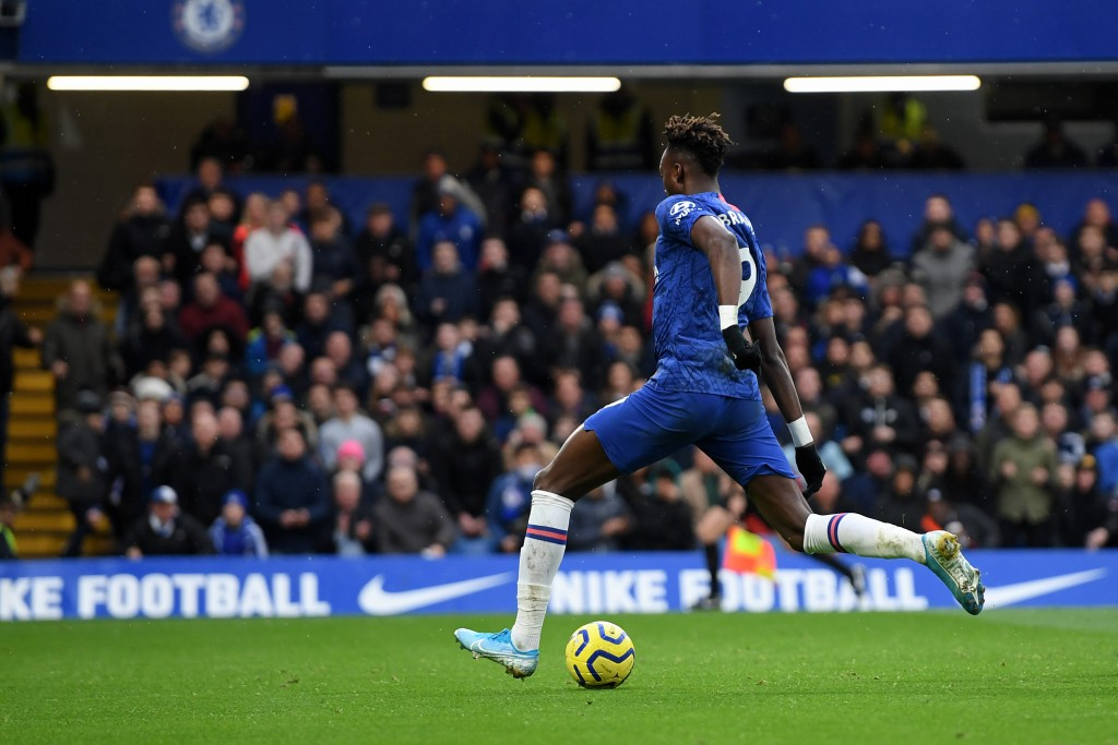 Tammy's availability could prove vital to Chelsea's chances against Aston Villa. (Picture Courtesy - AFP/Getty Images)