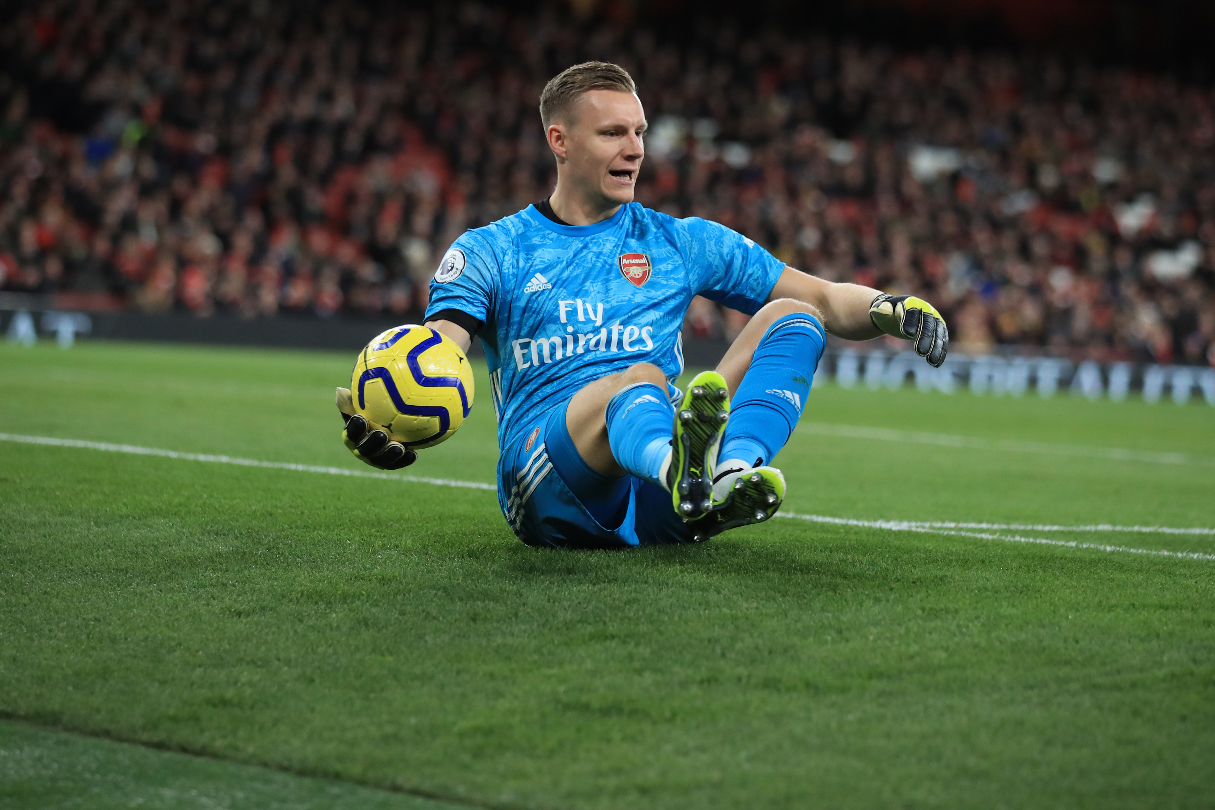 Bernd Leno unavailable for Arsenal (Photo by Marc Atkins/Getty Images)