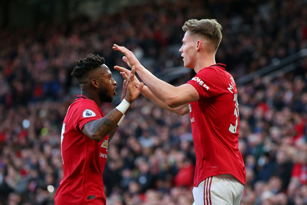 Neither McTominay nor Fred has what it takes to displace Matic, yet. (Photo by Alex Livesey/Getty Images)