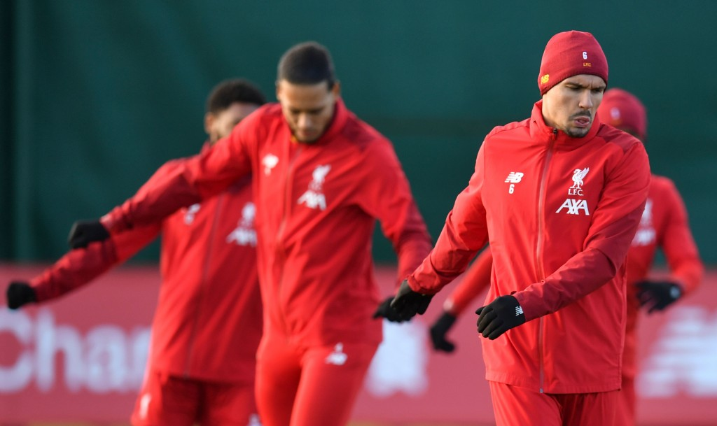 Lovren is fit to start against Red Bull Salzburg. (Photo by Paul Ellis/AFP via Getty Images)