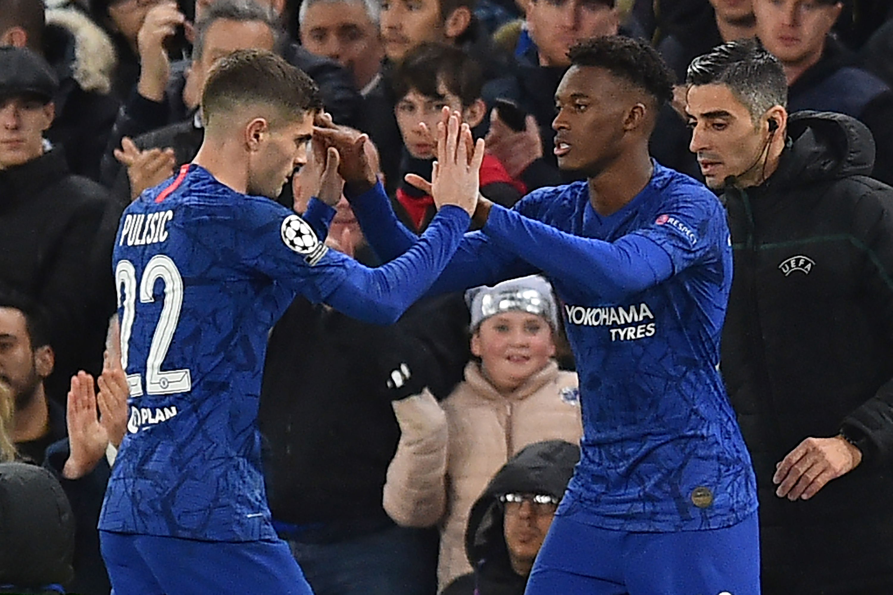 Hudson-Odoi unavailable but Pulisic is back for Chelsea (Photo by GLYN KIRK/AFP via Getty Images)