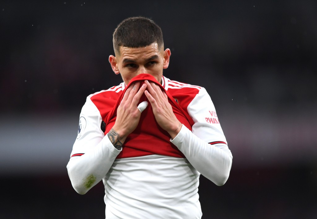 Lucas Torreira is ruled out for Arsenal. (Photo by Shaun Botterill/Getty Images)