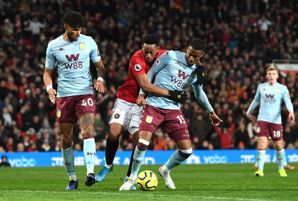Shut down quite well by Aston Villa defenders. (Picture Courtesy - AFP/Getty Images)