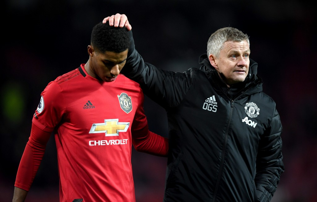 An important game and an opportune time for 'Dr.' Marcus Rashford to shine. (Picture Courtesy - AFP/Getty Images)