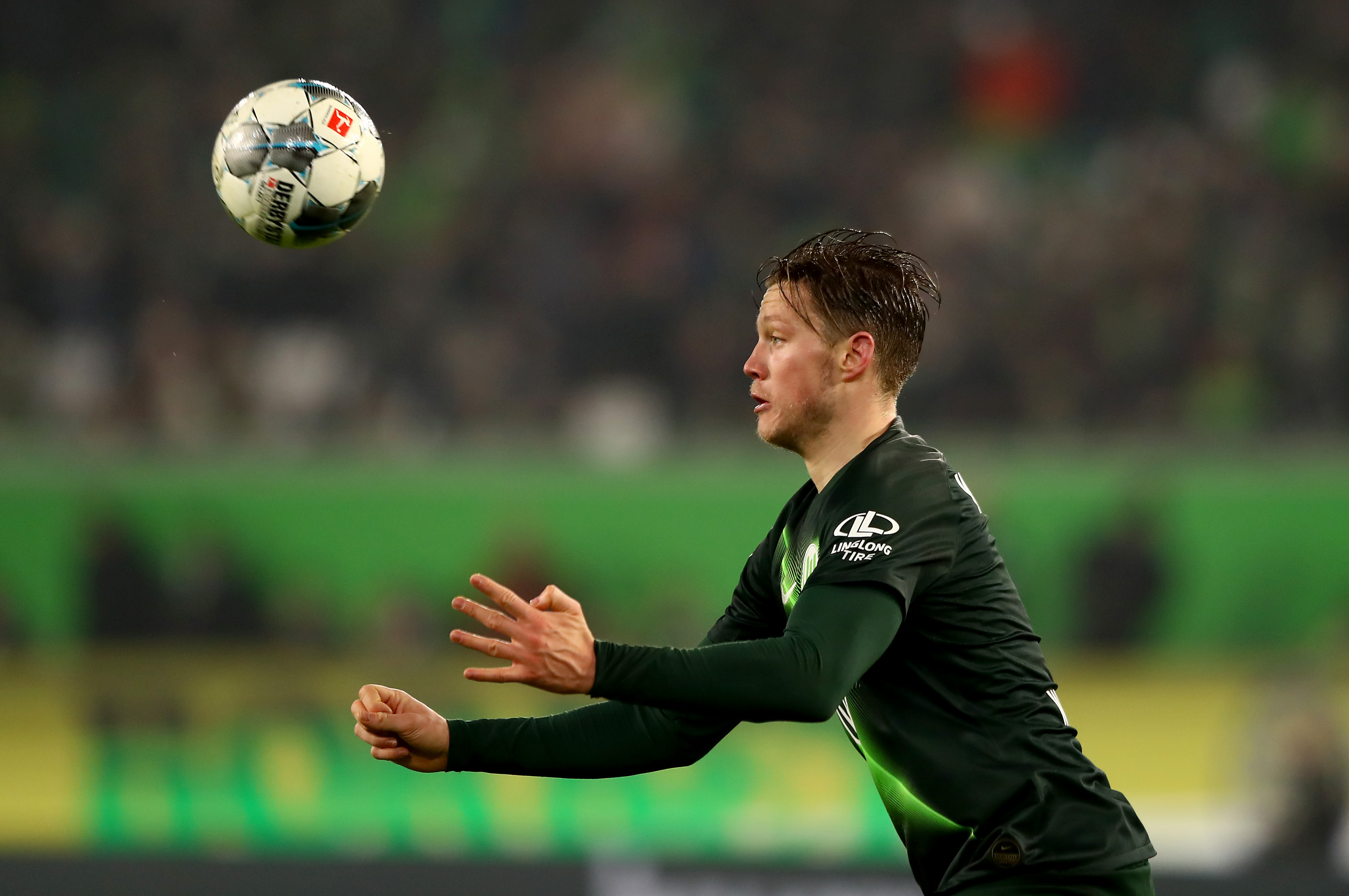 Wout Weghorst is back from suspension (Photo by Martin Rose/Bongarts/Getty Images)