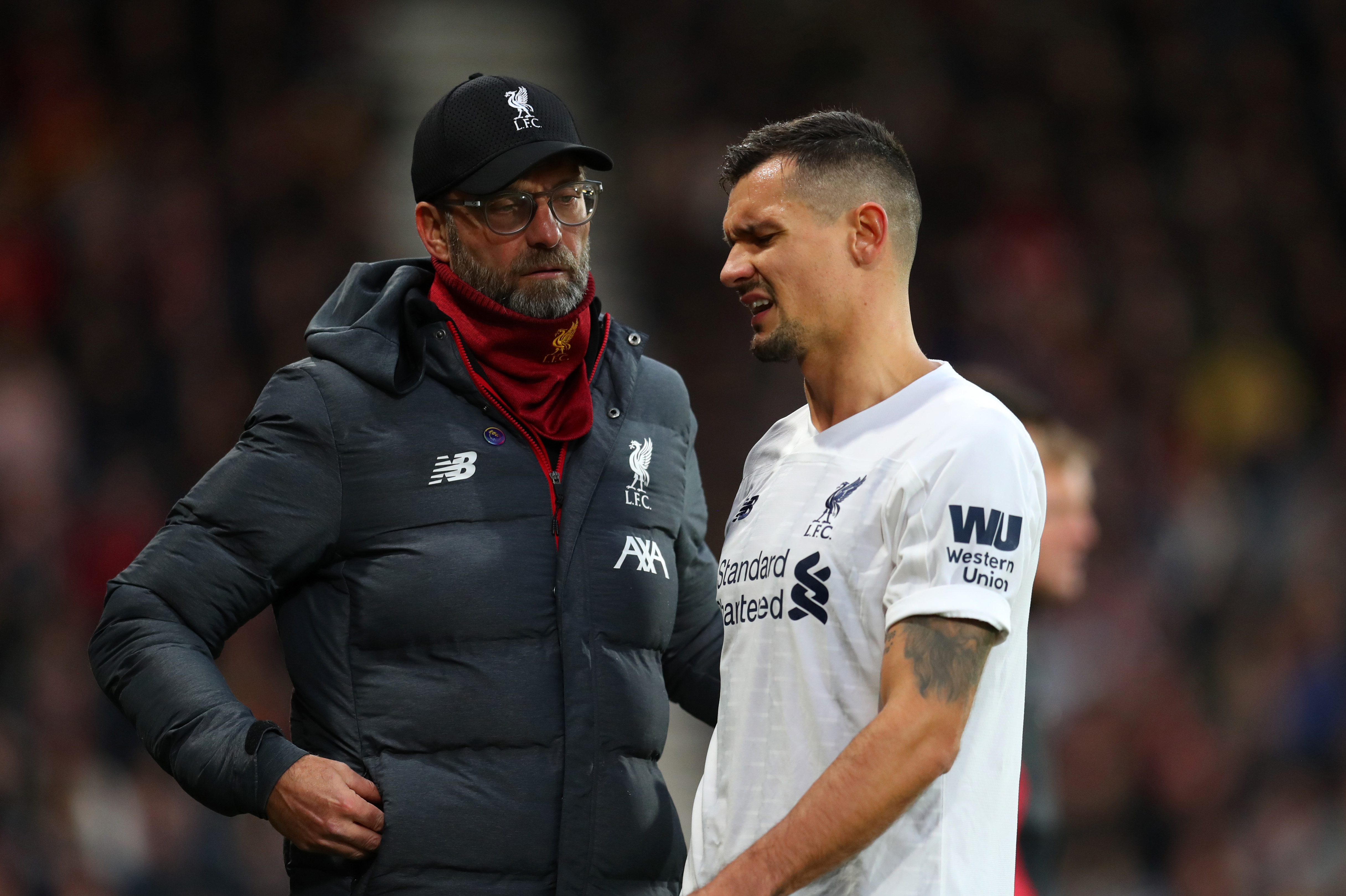 Lovren on his way out? (Photo by Catherine Ivill/Getty Images)