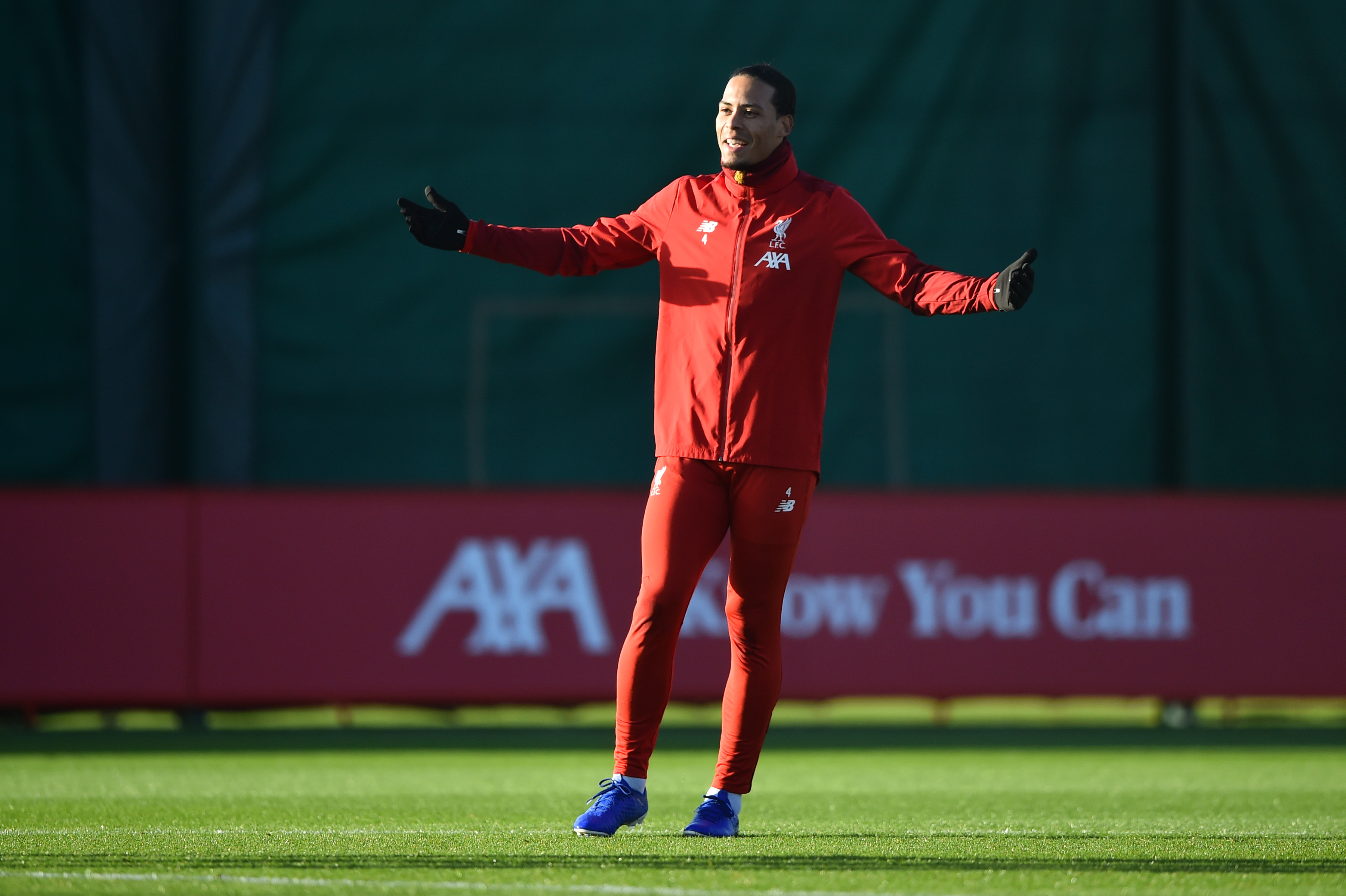Virgil van Dijk is fit to start on Saturday. (Photo by Nathan Stirk/Getty Images)