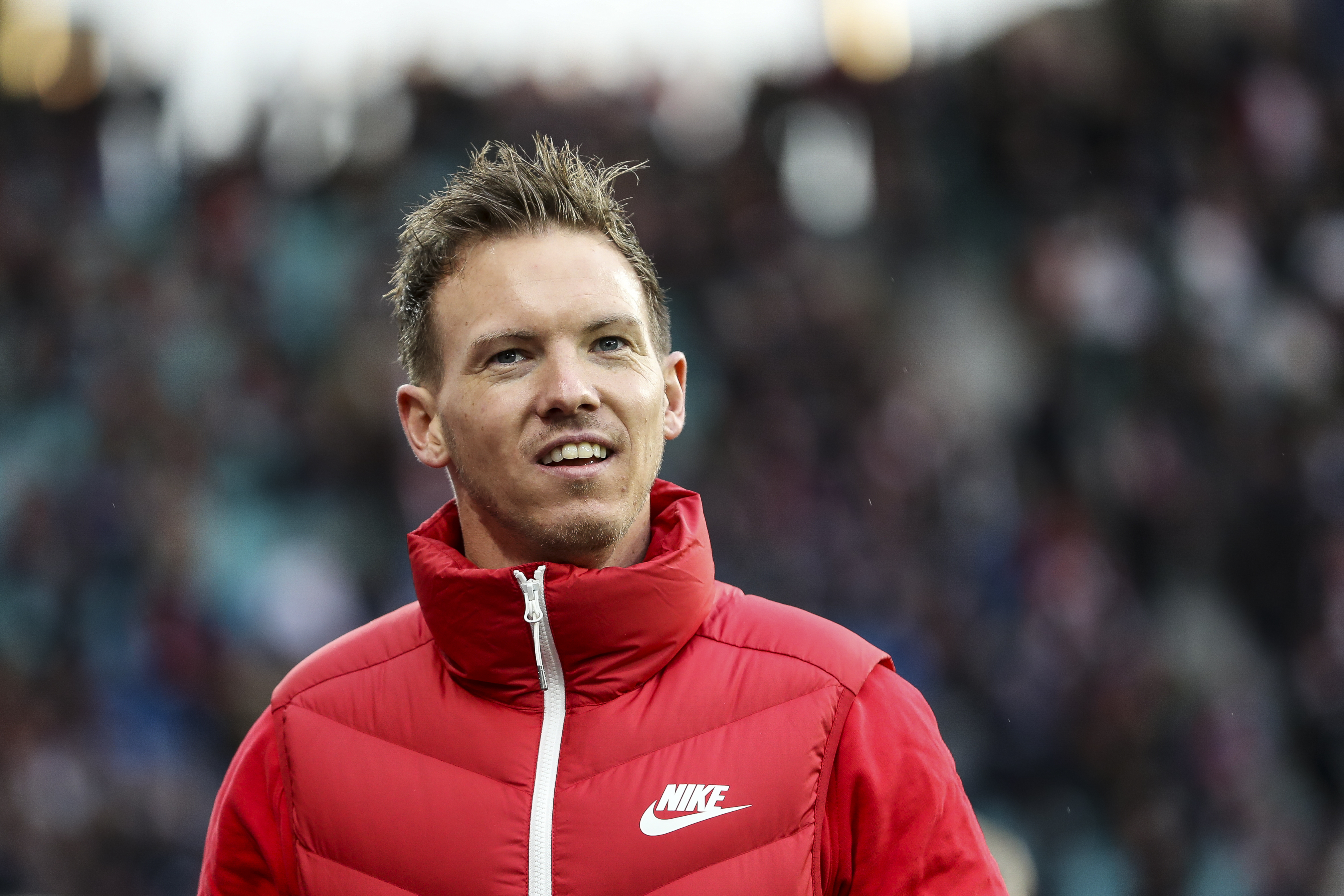 Julian Nagelsmann is regarded as one of the brightest young managers in Europe (Photo by Maja Hitij/Bongarts/Getty Images)