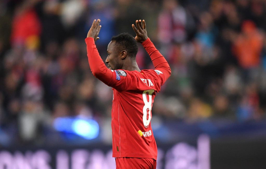 Naby Keita misses out due to injury. (Photo by Michael Regan/Getty Images)