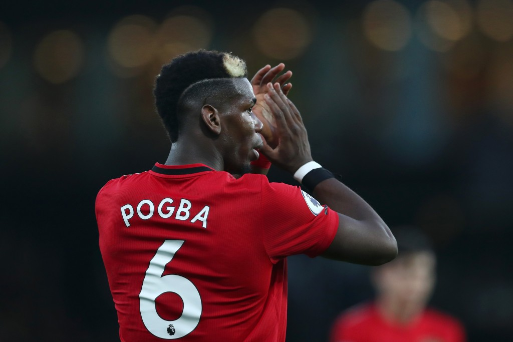 Paul Pogba is recovering from a knock. (Photo by Dan Istitene/Getty Images)